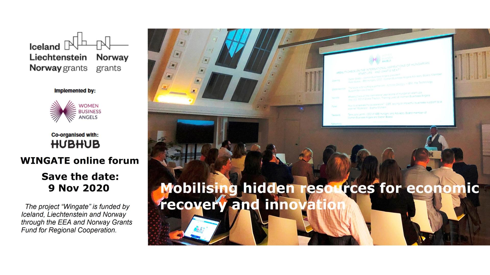 Rejtett források mobilizálása a gazdasági fellendülés és az innováció érdekében Közép- és Kelet-Európában