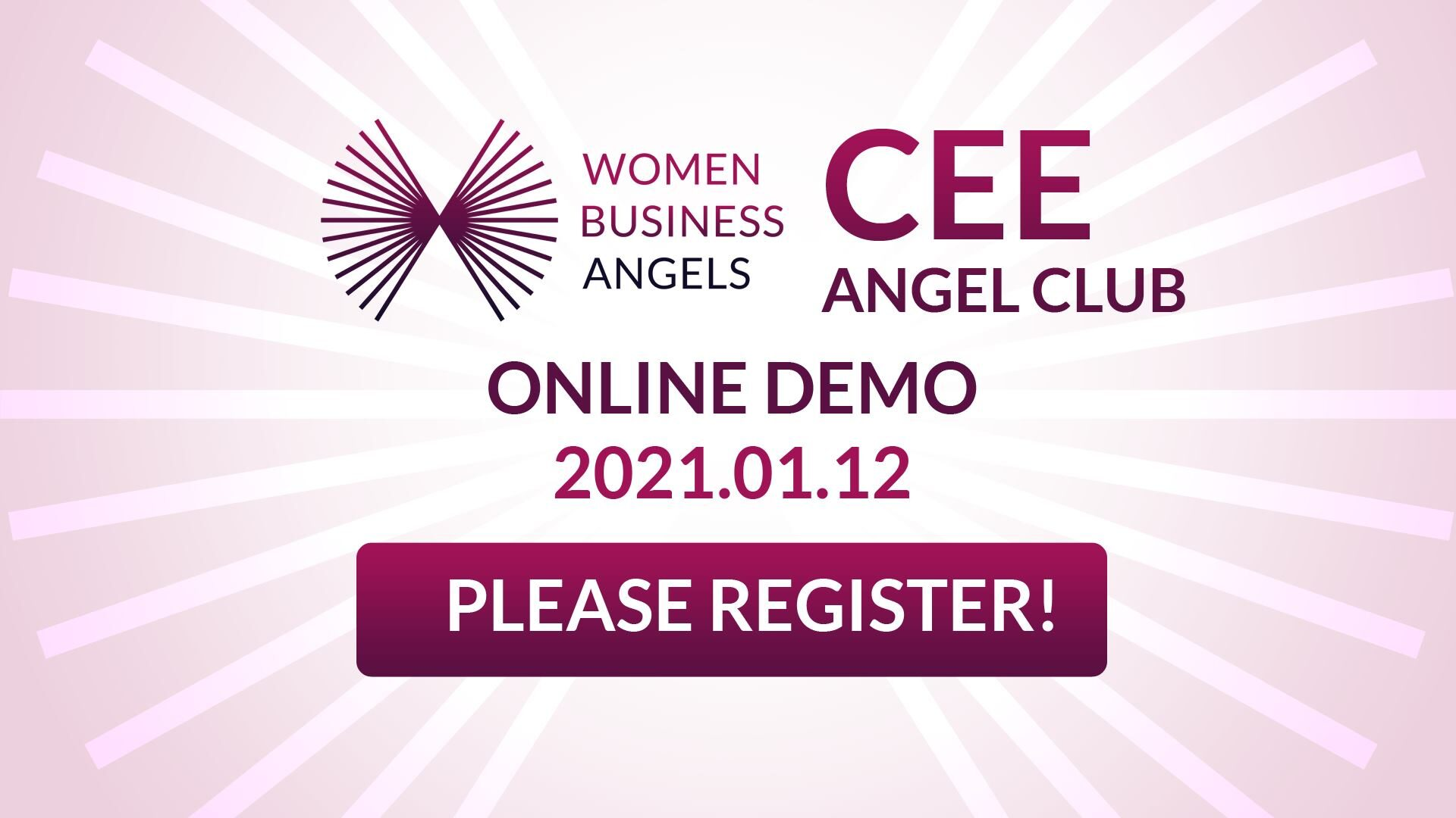 WBA CEE Angel Club   Demo 1